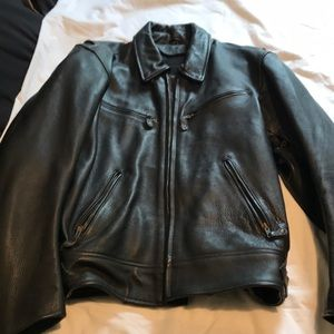 Other - Men's genuine leather riding jacket
